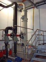 Abluftwäscher löst Problem mit Biofilter.