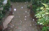 Überschwemmung Kanalisation