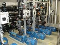 Schaden an einer Pumpstation durch Vibration