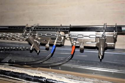 Messung von Fließgeschwindigkeiten in Rohrleitungen